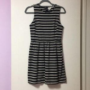J.Crew Factory Striped Dress